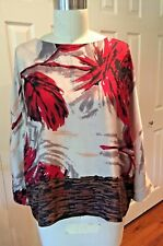 NEW Anthropologie Size 10 Silk Blouse by Erica Cavallini Semicouture