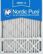 2 Pack Ac Furnace Air Filters Honeywell Nordic Pure 20x25x5 Merv 12