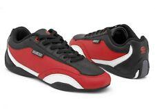 Sparco Zandvoort Black/Red Sneakers size 40 (UK 6.5)