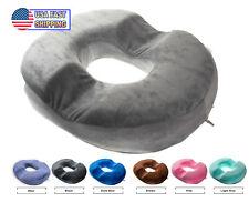 Orthopedic Donut Seat Cushion Memory Foam Cushion Tailbone Coccyx Memory Foam