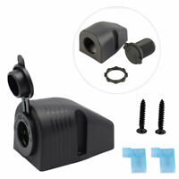 12V Car Boat Mount Cigarette Lighter Socket Surfaces Power Plug Outlet Accessory