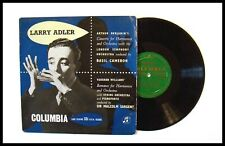 """AN ORIGINAL 1950's """"LARRY ADLER """" 10"""" RECORD MADE IN ENGLAND"""