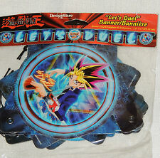 NEW  ~Yu-Gi-Oh!  BLUE   1-PAPER BANNER  3Ft LONG    PARTY SUPPLIES