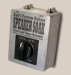 Speaker Soak Power Tube Attenuator for Fender Vibro Champ & Princeton Reverb Amp