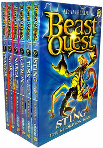 Beast Quest Box Set Series 3 The Dark Realm 6 Books Collection Set
