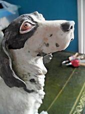 More details for gun dog - signed v. binoli - fine detail - one careful owner - delicate
