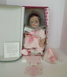 MARIE OSMOND BABIES A BLOOM HAPPY BIRTHDAY VINYL DOLL NEW NRFB COA #4760