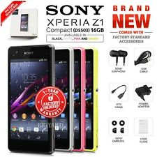 New Factory Unlocked SONY Xperia Z1 Compact D5503 Black White Pink Android Phone