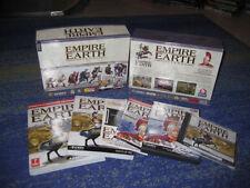 Empire Earth Collection PC Empire Earth Universe Super Boîte Noire Grand Box, etc.