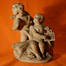 SCULPTURE Groupe en terre cuite modèle de Sèvres ? XIXeme scultura
