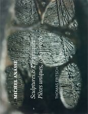 Michel Anasse, Sculptures et Céramiques, Pièces uniques, 1960 - 1970