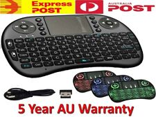 Black Wireless Mini Keyboard /& Mouse Easy Remote Control for Samsung JVC LT-32C360 32 Smart TV