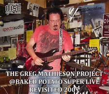 GREG MATHIESON Baked Potato Super@LIVE REVISITED 2007*CD Steve Lukather,Toto AOR