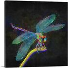 ARTCANVAS Dragonfly Insect Canvas Art Print
