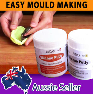 Aldax Mold Putty - RTV Silicone Rubber Mould Making Putty - Food Safe Kit