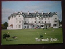 POSTCARD FIFE DORNOCH HOTEL - OVERLOOKING DORNOCH CHAMPIONSHIP GOLF COURSE