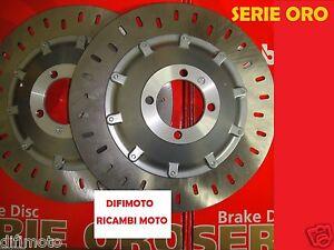 KIT 2 DISCHI FRENO BREMBO ORO 68B407D2 ANTERIORI BMW 750 K 75 (NO ABS) 1988 1989