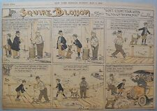 Squire Blossom by Frank Crane from 5/7/1916 Half Page Size Early Country Humor