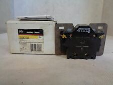 NEW GE GENERAL ELECTRIC CR305X200B AUXILIARY CONTACT N.C. SIZE 2