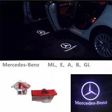 LED Door Courtesy Laser Projector Shadow Light For Benz W212 E320 E350 E550 AMG