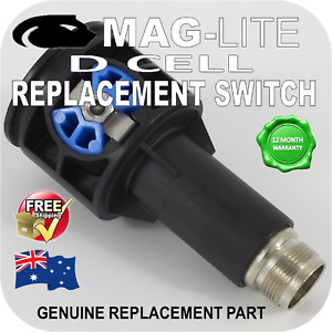 MAGLITE UPGRADE SWITCH ASSEMBLY D CELL PREFIX FLASHLIGHT TORCH GENUINE PART AU