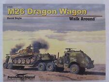 Squadron/Signal Book - M26 Dragon Wagon Walk Around #27025