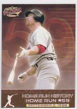 1998 Pacific Home Run History St. Louis Cardinals Baseball Card #17 Mark McGwire
