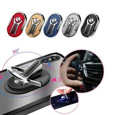 Universal Cell Phone Ring Stand Holder Rotating Finger Holder Car Vent Clip