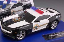 Carrera 30756 Digital & Analog Chevrolet Camaro Sheriff Slot Car 1/32 Scale
