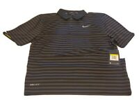 Nike Dry Victory Golf Polo Black/Grey Men's Size S New with Tags