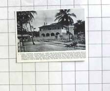 1938 European Residence At Lome, Togo Land Administration