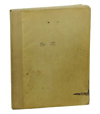 Theory of Deduction by WILLARD VAN QUINE ~ First Edition 1948  Methods Logic 1st