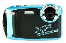 4K Fujifilm FinePix XP140 16MBSI-CMOS Waterproof Action Camera, Sky Blue