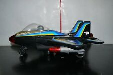VINTAGE 80'S ROARING JET BATTERY OPERATED TOY PLANE