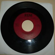ROCKABILLY 45 RPM RECORD - JIMMY LEE BALLARD - REM 305 - AUTOGRAPHED