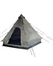 4-Mann Pyramidenzelt Tipi oliv, Camping, Outdoor, Zelten               -NEU-