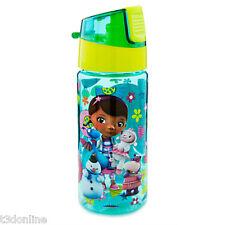 DISNEY DOC MCSTUFFINS LAMBIE CHILLY STUFFY HALLIE KIDS WATER BOTTLE BPA FREE NEW