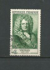 France 1955 Sébastien Le Preste de Vauban Y&TN°1029 timbre oblitéré /T6778