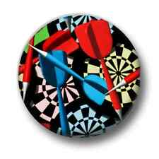 Darts 1 Inch / 25mm Pin Button Badge 180 Bullseye Arrows Bully Special Prize Fun