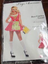 NEW Beer Garden Gretel German Babe Sexy Girl Halloween Costume Small Pink