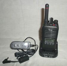 Icom Ic-F2000S Handheld Two Way Radio w/Bc-213 Charger Ic F2000S 450-512 Mhz Uhf