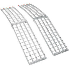 Moose Utility Aluminum Folding Silver Loading Ramp Pair Set Offroad UTV ATV 4x4