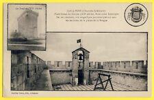 cpa 17 - PONS (Charente Maritime) PLATE FORME du DONJON Tocsin Pavillon Cloche