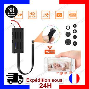 Mini Camera Espion WiFi Caméra Cachee 1080P HD Micro Caméra Surveillance Espion