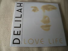DELILAH - LOVE LIFE - 2013 PROMO CD SINGLE