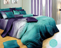 VITARA Duvet/Doona/Quilt Cover Set Queen/King/Super King Size Bed
