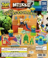 TTA MIIKKE! Toy Story Gashapon 4set complete mini figure capsule toys