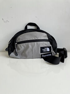 Supreme SS13 × The North Face Roo 2 Waist Bag (Black) Red Box Logo TNF