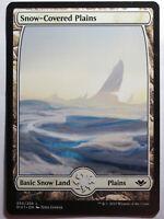Snow-Covered Plains     Mtg Magic English