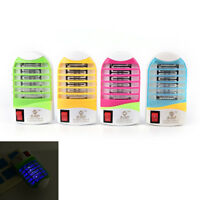 LED Socket Electric Mosquito Fly Bug Insect Trap Night Lamp Killer Zapper S  YK